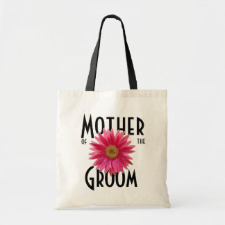 Pink Gerbera Daisy/ Wedding Bags