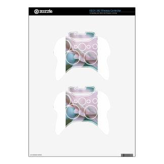 Pink Gerbera Daisy Xbox 360 Controller Skin