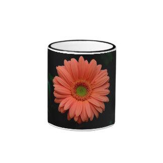 Pink Gerbera Flower Mug