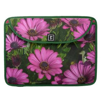 Pink Gerbera Sleeves For MacBook Pro