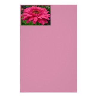 Pink Gerbera Stationery