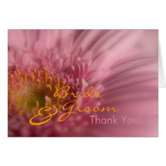Pink Gerbera • Thank You Card