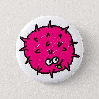 Pink Germ Button