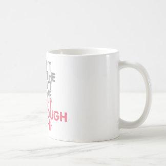 """Pink """"Get Enough"""" Coffee Mug"""