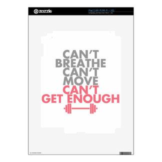 "Pink ""Get Enough"" iPad 2 Skins"