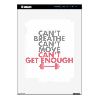 "Pink ""Get Enough"" Skin For iPad 3"
