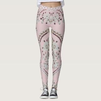 Pink Gibson Leggings