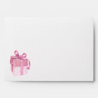Pink Gift Card Envelope