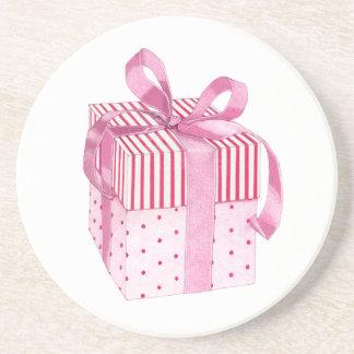 Pink Gift Coaster