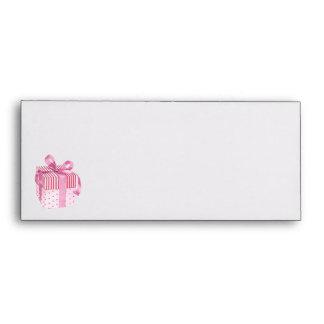 Pink Gift Letterhead Envelope