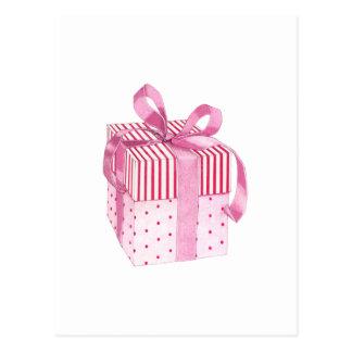 Pink Gift Postcard