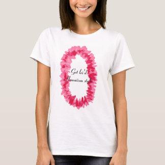 Pink ginger lei shirt