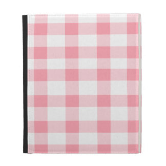 Pink Gingham iPad Case