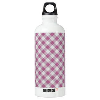 Pink Gingham Check - Diagonal Pattern SIGG Traveler 0.6L Water Bottle