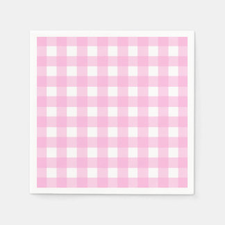 pink checkered paper napkins Our collection of colored paper napkins are available in exciting range of solid colors, made from 2-ply paper they are soft to touch and are highly absorbent.