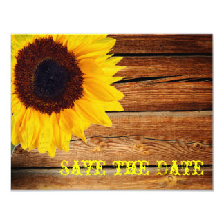 "Pink Gingham Yellow Sunflower Modern Floral Bride 4.25"" X 5.5"" Invitation Card"