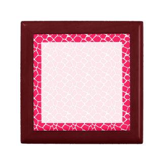 Pink Giraffe Personalized Tile Gift Box