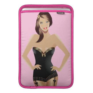 """Pink Girl 11"""" MacBook Air Sleeve"""