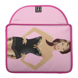"Pink Girl 13"" MacBook Pro Sleeve"