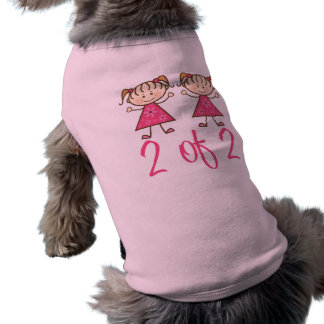 pink_girl_2_of_2 playera sin mangas para perro