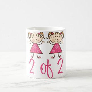 pink_girl_2_of_2 taza de café