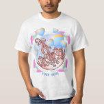 Pink Girl Baby Parasol t-shirt