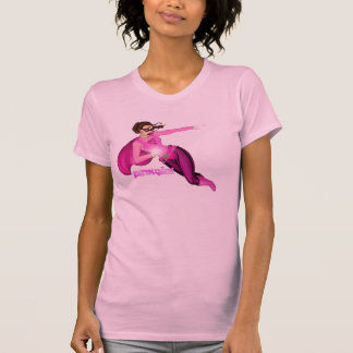 Pink Girl Graphic T-shirts