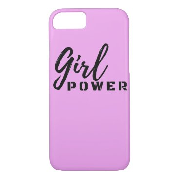 Pink Girl Power iPhone 8/7 Case