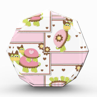 Pink Girls Turtle Award