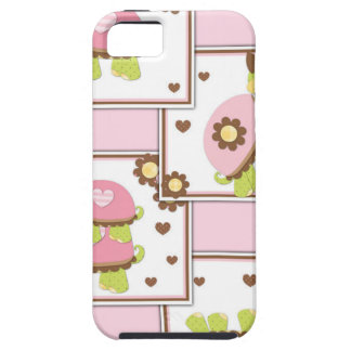 Pink Girls Turtle iPhone SE/5/5s Case