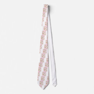 Pink Girls Turtle Neck Tie