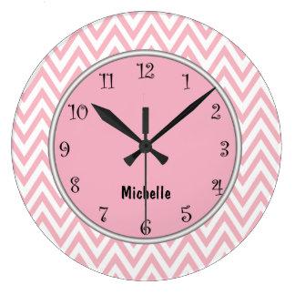 Pink Girly Clocks