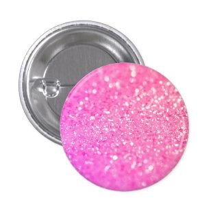 Pink Glamour Sparkley Button