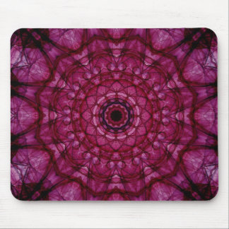 Pink glass ceiling mouse pad