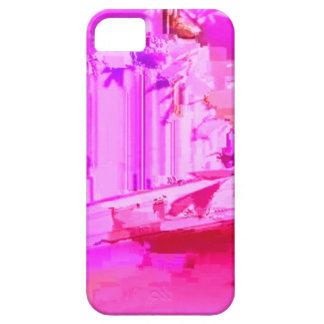 Pink Glitch Art iPhone Cover iPhone 5 Cover