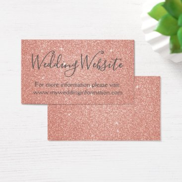 Professional Business Pink Glitter and Sparkle Simple Business Business Card