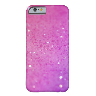 Pink Glitter Barely There iPhone 6 Case