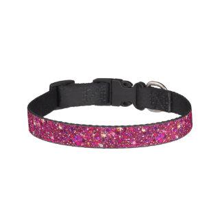 Pink Glitter Dog Collar
