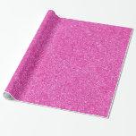 Pink Glitter Glamorous Template Elegant Modern Wrapping Paper
