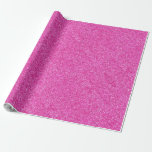 Pink Glitter Glamour Template Modern Elegant Wrapping Paper