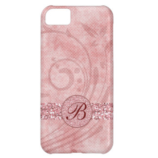 Pink Glitter iPhone 5C Cases