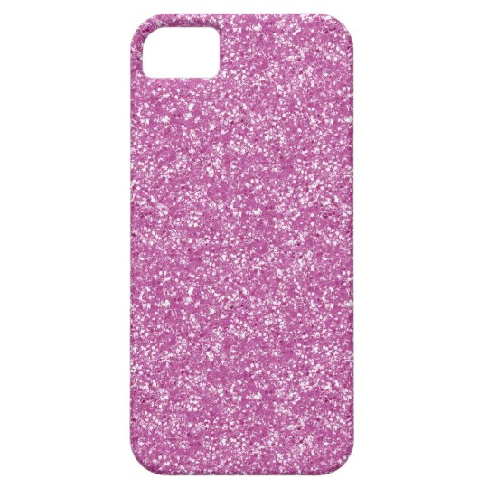 Pink Glitter iPhone SE/5/5s Case