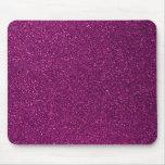 Pink Glitter Mousepads