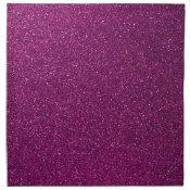 Pink Faux Glitter Napkin