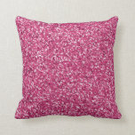 Pink Glitter Pattern Look-like Pillows