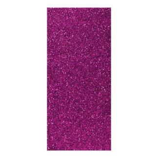 Pink Glitter Rack Card