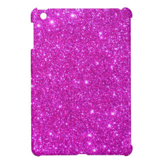 Pink Glitter Sparkle Customizable Design Cover For The iPad Mini