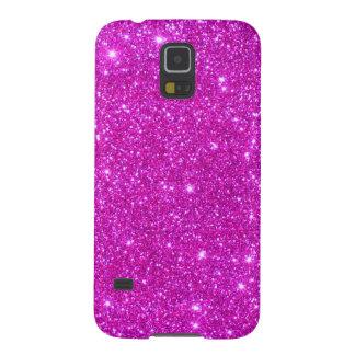 Pink Glitter Sparkle Customizable Design Galaxy S5 Case
