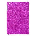 Pink Glitter Sparkle Customizable Design iPad Mini Cases