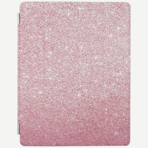 Pink glitter sparkly ipad cover